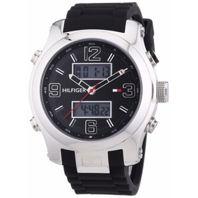 d034ac2babb Relógio De Pulso Tommy Hilfiger Masculino Borracha Preta 179 ...