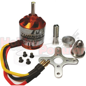 Motor Turnigy Brushless D2836/8 1100kv Completo