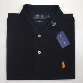 Camisa Polo Preta Polo Ralph Lauren Slim Fit Tam P - Calçados ... 0a22781f1ce