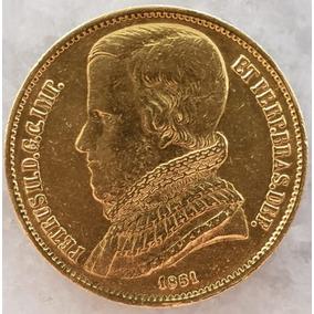 Moeda De Ouro 20000 Réis Ano 1851