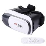 Vr Box Realidad Virtual 3d (caja De 30 Un) + Control Remoto
