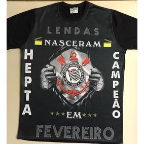 0945cc7ca0 Faixa Campeao Corinthians - Camisetas para Masculino no Mercado ...