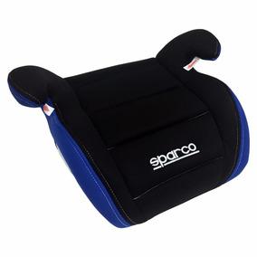 Silla De Carro Booster Negro-azul Para Niños Sparco