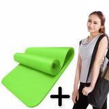 Colchoneta Mat Yoga De Pilates 5 Mm Manta Enrollable Colores