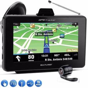 Gps Tracker 4,3 C/câmera De Ré E Tv Digital Gp035 Multilaser