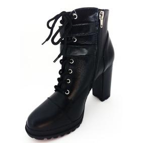 b17277619 Bota Lia Line Cano Curto - Sapatos no Mercado Livre Brasil