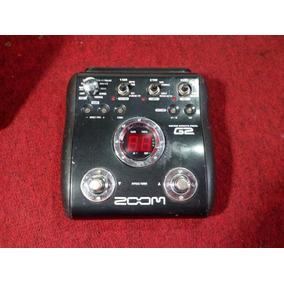 Pedalera Multiefecto Zoom G2 Para Guitarra Electrica