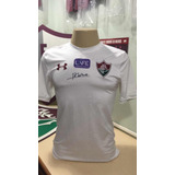 Camisa Fluminense Under Armour Usada Em Jogo E Autografada