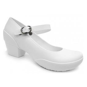 eaccd10c00 Sapato Boaonda Galicia Branco Feminino - Sapatos no Mercado Livre Brasil