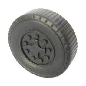 Jogo 400 Rodas 3cm Plástico Miniatura Brinquedo Caminhão