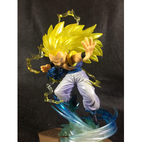 Escultura Dragon Ball Gotenks Super Sayajin