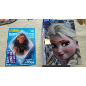 Lote Coleção Completa Cards Frozen -200 Cards