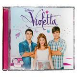 Violetta - Violetta Disney - Disco Cd - Nuevo (14 Canciones)