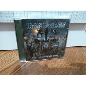 Cd - Iron Maiden - A Matter Of Life And Death - Lacrado