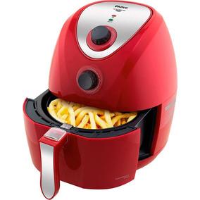 Fritadeira Philco Air Fry Saúde Inox Ph 3,2 Litros Vermelho