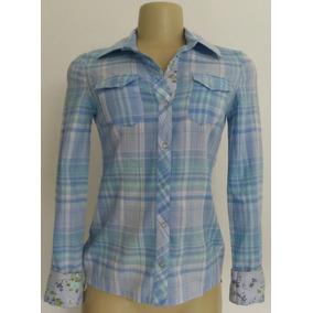 2583c47916 Camisa Xadrez Usada - Camisa Manga Longa