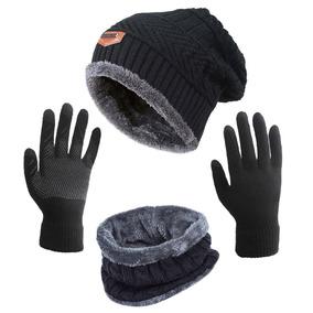 Sombrero De Invierno Bufanda Guantes Slouchy Beanie Snow. a13b06130ee