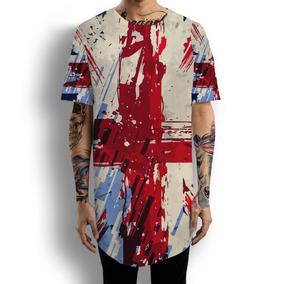 Linda Camiseta Bandeira Reino Unido Inglaterra Olimpíadas - Calçados ... d72fb5ebf537c