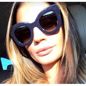 c18dab9d9b9da Oculos De Sol Celine Marta Azul - Óculos no Mercado Livre Brasil