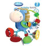 Sonajero De Bebe Clip Clop Activity Rattle Playgro
