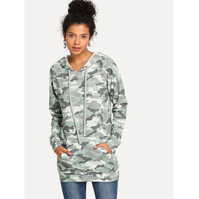 7183222d2d2 Sudadera Militar Chamarras Mujer Ropa Mujer Sudaderas Mujer