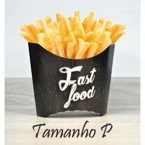 Caixa Caixinha Embalagem Para Batata Frita P (500 Unidades)