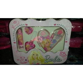 Loncheras Metalicas Maquillaje De Niña Marca Barbie