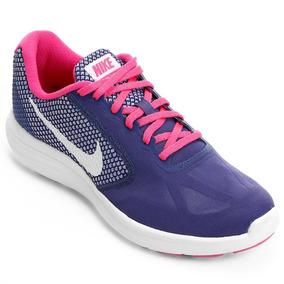 Tênis Nike Wmns Revolution 3 Feminino - Frete Grátis 28f3e9e5aa18a