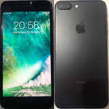iPhone 7 Plus 256g Preto Mate