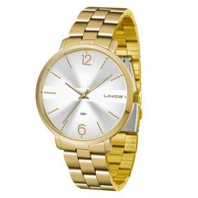 e315ce933bf Relogio Feminino Prata - Relógio Lince Feminino no Mercado Livre Brasil