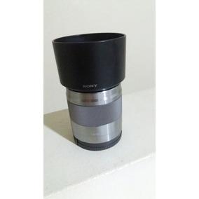 50mm F1.8 Sony Oss Sel E-mount Com Estabilização De Imagem