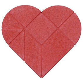 Rompecabezas Goki Rompecabezas Acertijo Corazón 9 Piezas