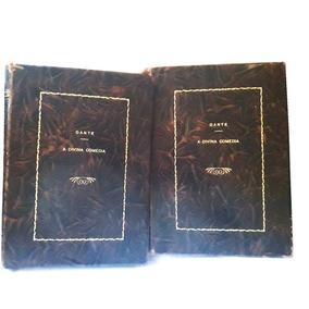 A Divina Comédia - Edição De 1946 - Capa Dura - 2 Volumes