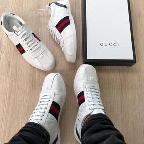 ca4f3097f Precio. Publicidad. Tenis Zapato Blanco Gucci Para Hombre Calzado