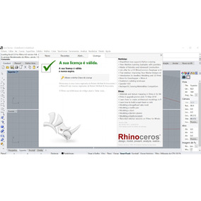 Rhinoceros 6 V6.13 Comercial Portugues - Vitalício