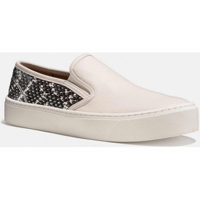 Tenis Coach Para Dama Cameron Slip On In Snakeskin