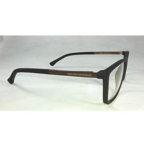 12962174a62f1 Emporio Armani Ea 4003 Marrom trans 5069 13 - Óculos no Mercado ...