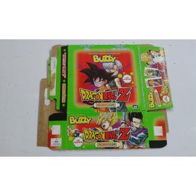 Caixa De Chicletes Vazia Buzzy Dragon Ball Z Bom Estado