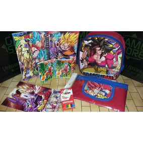 Mochila Lonchera Set 1 De Dragon Ball Gt Gamestoreshock