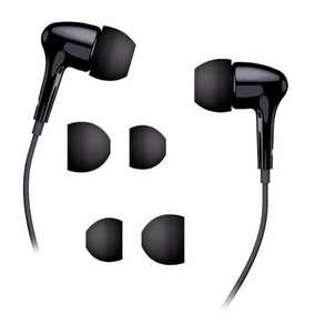 Audifonos Genius Intrauditivos Ghp-206 Negro 3.5mm 1.2m