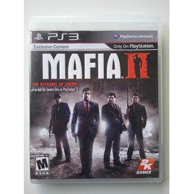Mafia 2 Ps3 Mídia Física Original Completo Perfeito