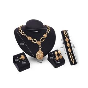 dfbb0c3f14d8 Joyas De Oro Amarillo Set Pulsera Collar... (f(500082)) por eBay