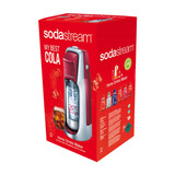 Maquina Sodastream P/agua Mineral Kit Jet Rojo