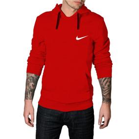 Blusa De Frio Nike - Moletom Vermelho no Mercado Livre Brasil 723a4cb8487e7