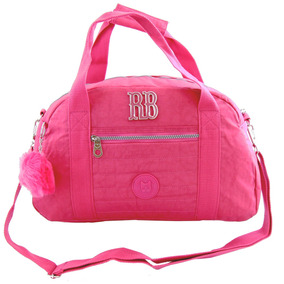 Sacola Viagem Bolsa Rebecca Bonbon G Crinkle Color Rb8169