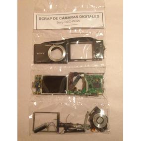 Cámara Digital Sony Dsc-w320 Es Scrap Para Repuestos