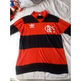Camisa Flamengo Anos 80 Zico no Mercado Livre Brasil 56230de687623