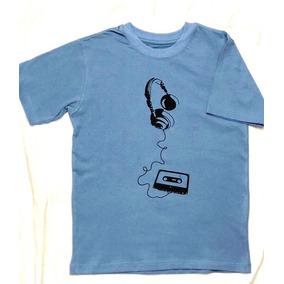46ee07e27 Remeras Manga Corta Otras Marcas Talle 2 2 para Niños Azul acero en ...