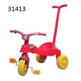 Triciclo Rayo Girl Con Barral Linea Eco Biemme Art 1413-b