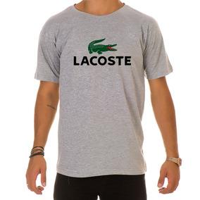 2efa3ff747550 Camiseta De Marca Lacoste Com Estampa Emborrachada - Camisetas e ...